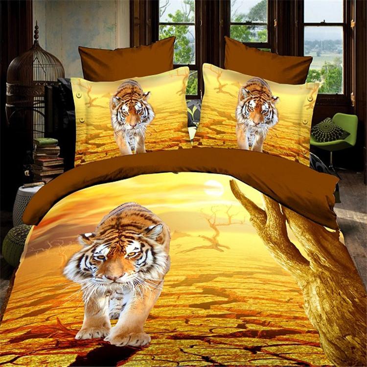 Custom Print 3D Bed Sheet