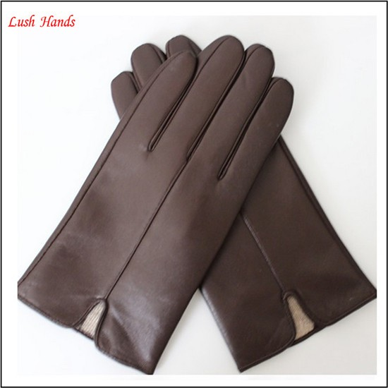 2016 custom made leather gloves in europe