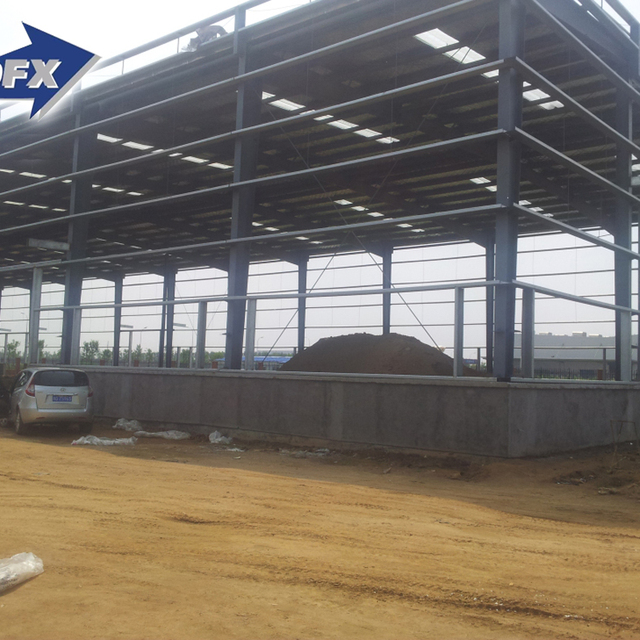 Low Cost Steel Structure Prefabricated Warehouse Offices For India