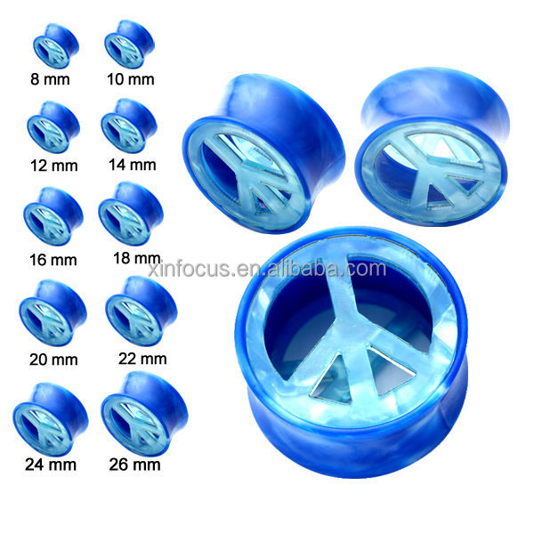 Plane Shaped Cool Magnetic Charming Ear Plugs Ear Tunnels Body ...
