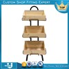 China Factory Outlet Portable Heavy Duty Fruit Display Stand