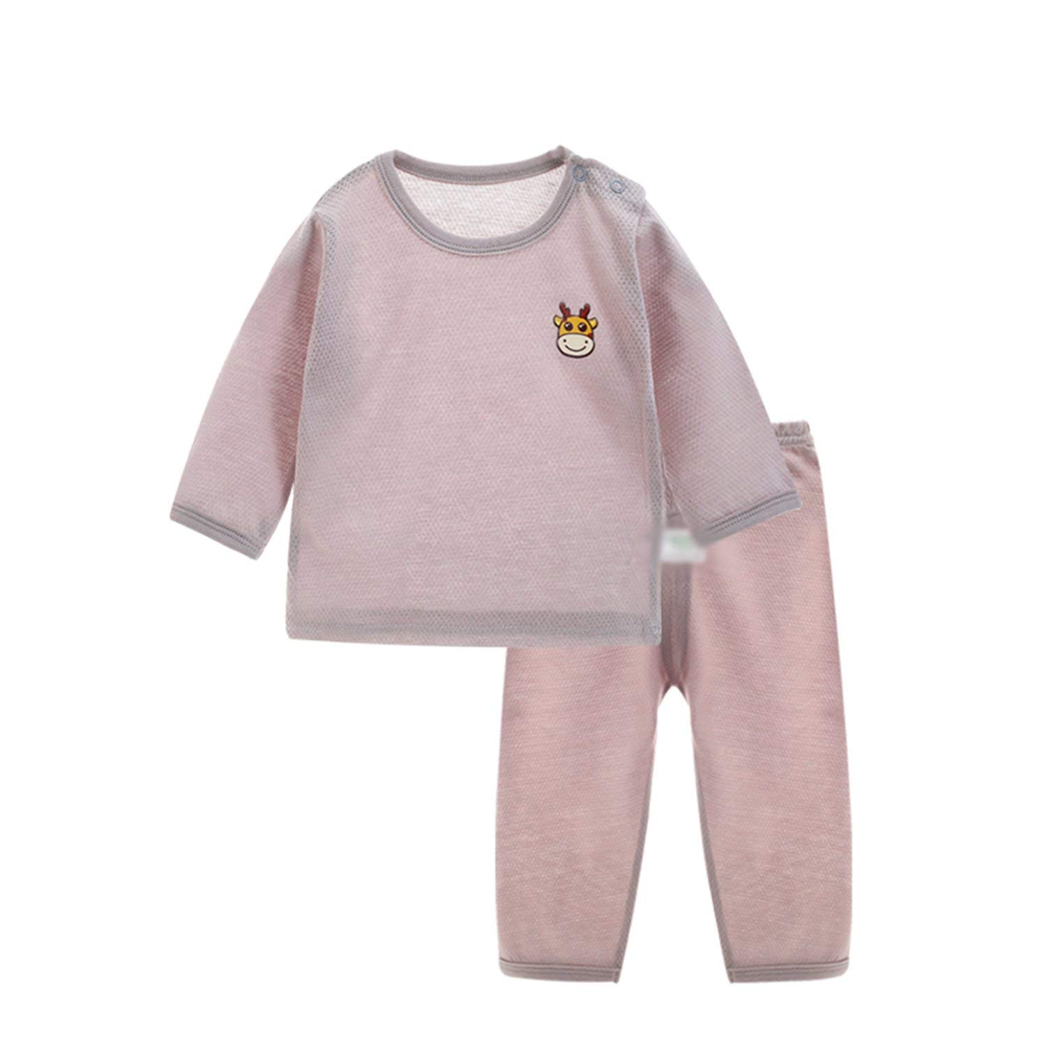 f27b460a11 Get Quotations · Kateirmaso Children s Pajamas 2pcs Set Baby Boys Pajamas  Set Autumn Clothes Sets Sleepwear Sets Girl