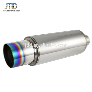 High quality titanium Car Exhaust Muffler fits for HKS style