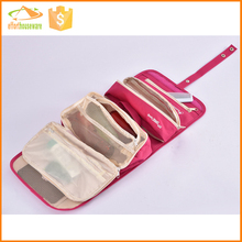 Muti-functional Polyester Travel cosmetic bag in bag storage case