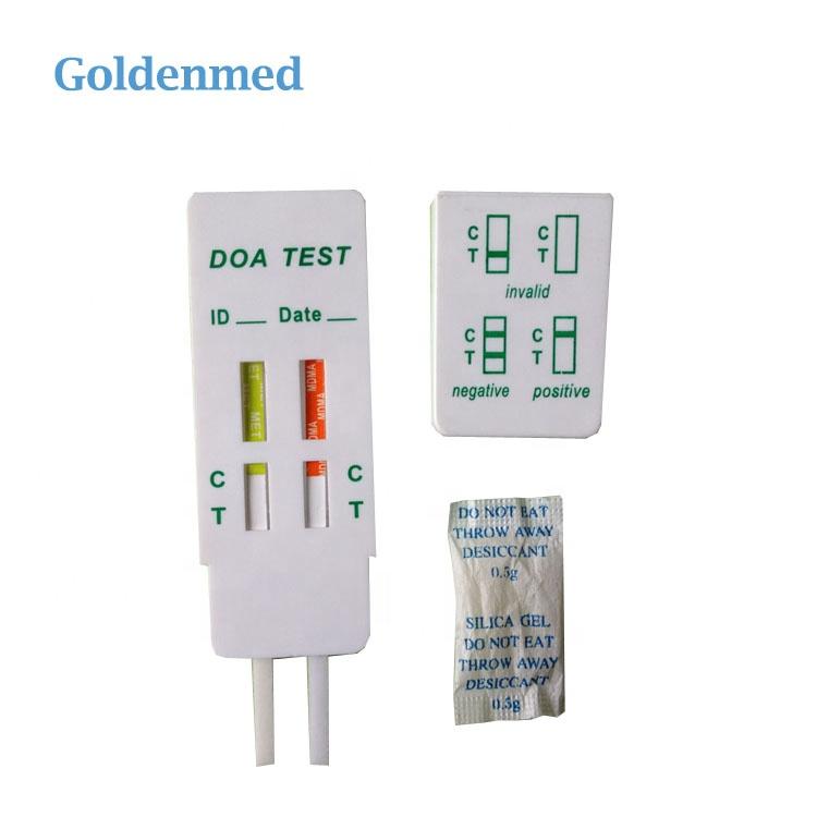 Atacado painel de teste Rápido de Drogas urina kits de teste multi 2 em 1 dip cartão