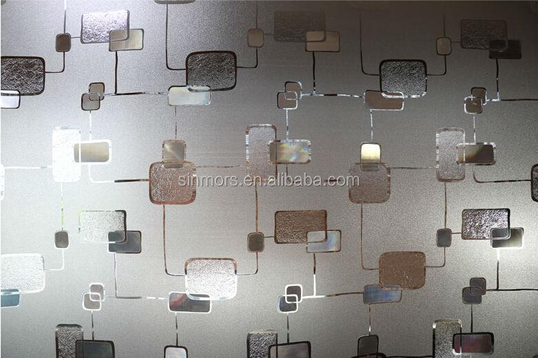 Kamar Mandi Stiker Jendela Kaca Dekorasi Stiker Pintu Jendela Stiker