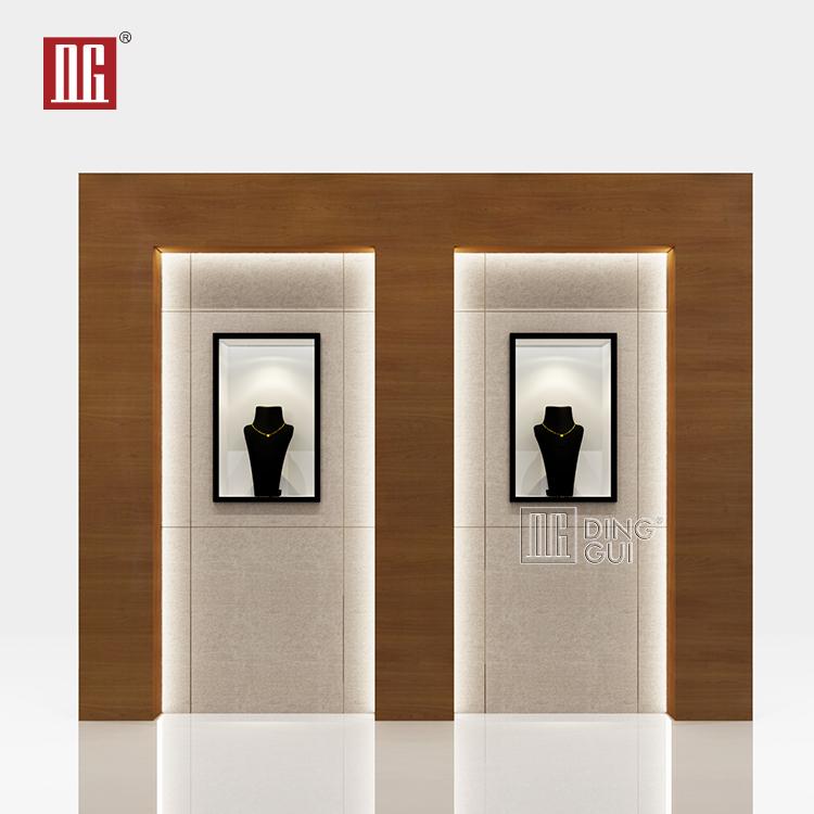 Clássico simples projeto profissional especial perfume loja de design de interiores