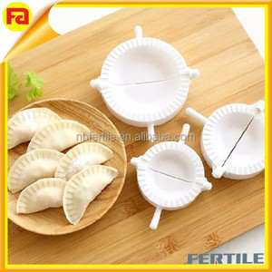 3Pcs DIY Chinese Dough Press Dumpling Pie Ravioli Making Maker Mold Mould