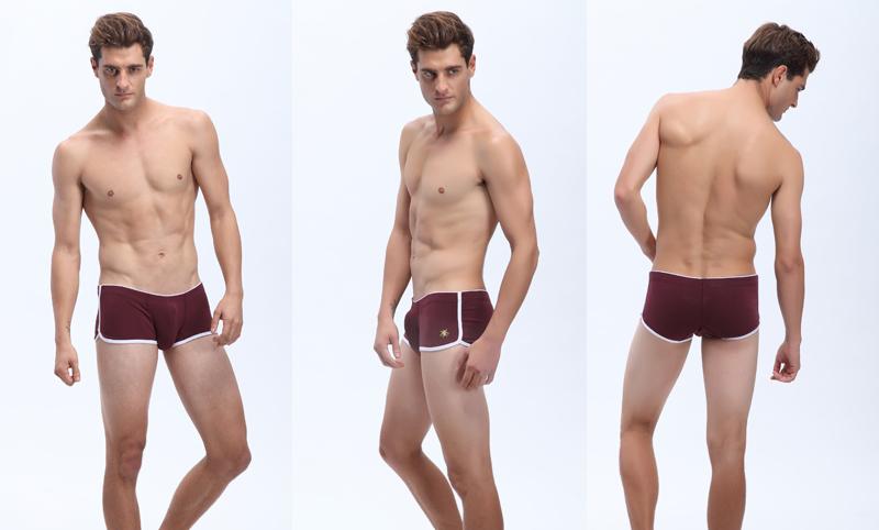 Tight Men's Pants Men Underwear Boxers See Through Underwear ...