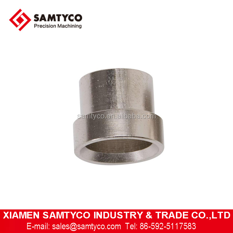 Customized CNC Machined Stainless Steel Aluminum Tube Sleeves With Good Quality