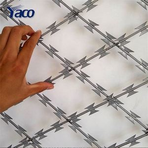 factory direct sale potect material double twisted barbed wire from china anping