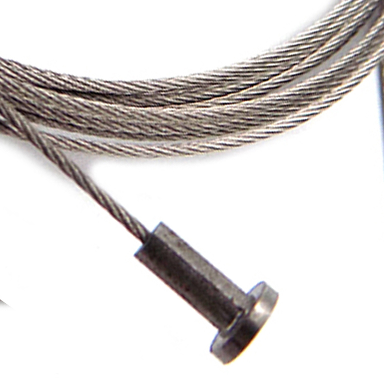 Gym Wire Rope Cable  With Single Shank Ball End Stop Fitting