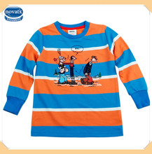 (A3179) NOVA brand kids wear boys casual t shirt children's clothing china
