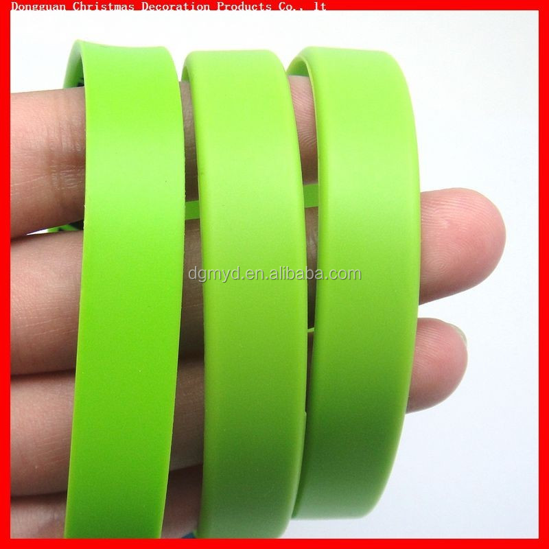 silicon wristband for fashionable jewlry