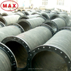High Pressure Flange Joint 8 inch Rubber Hose Pipe