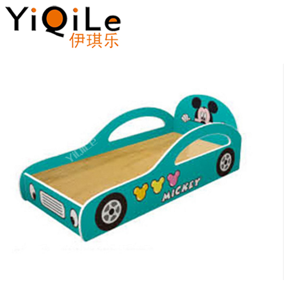 Car shaped wooden child bed solid bed for children modern child bed room furniture