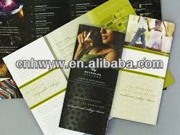 Catalogues/booklets/instruction manuals in full color printing