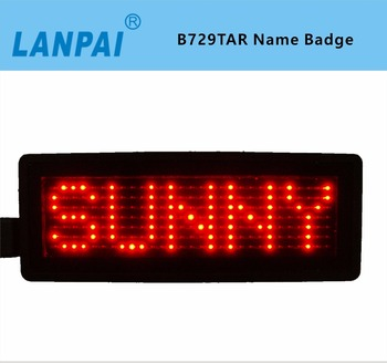 Mini Hot Koop Verlichting Led Naam Plaat Led Naam Badge - Buy Mini ...