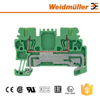 Weidmuller ZPE 1.5 Earthing Type Spring Din Rail Terminal Block Electrical Connector