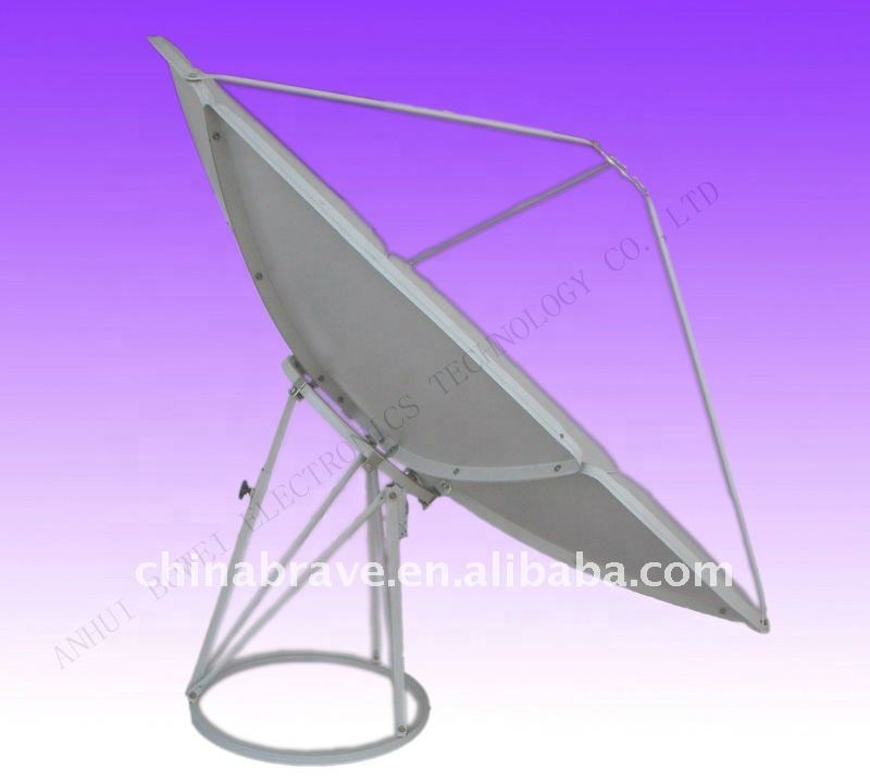 <strong>Satellite</strong> antenna 2.4m for Israel