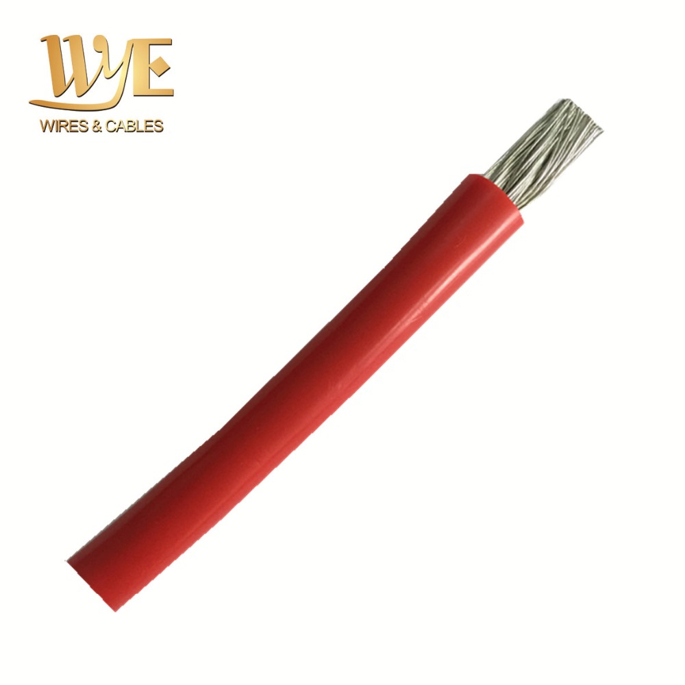UL3580 1000V 2AWG High Voltage Silicone Rubber Insulation Wire Cable