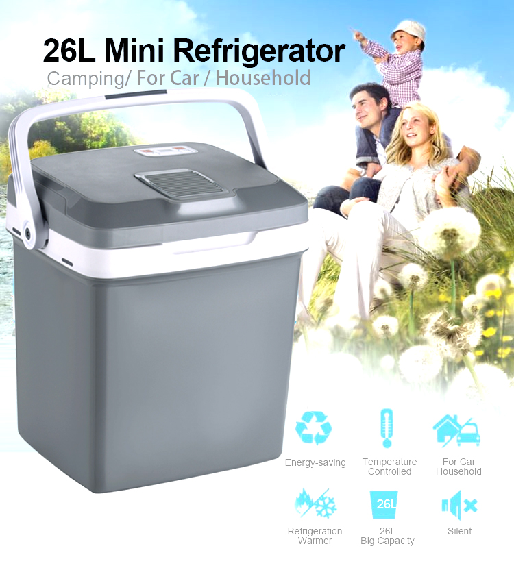 AQ-26L cooler box mini fridge freezer for home and car fridge