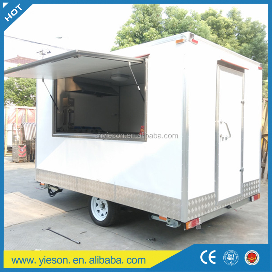 Yieson Made Mobile Kitchen Container Mobile Restaurant Trailer Food ...