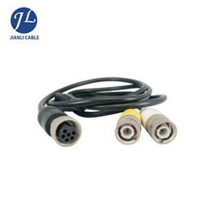 6 pin to BNC camera cable with reversing feature