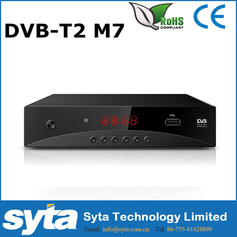 SYTA hd mutil-choice panel stb <strong>tuner</strong> DVB-T2 FTA <strong>set</strong> <strong>top</strong> box digital Type dvb t2 <strong>tv</strong> receiver for Russia Egypt Israel Iran