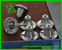 Medium ang large dimension of cnc turning parts, flange bolt, rfwn steel flange part by cnc machining