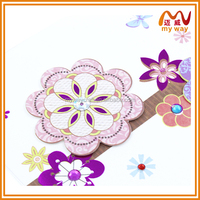 Custom Recordable Flower Greeting Card