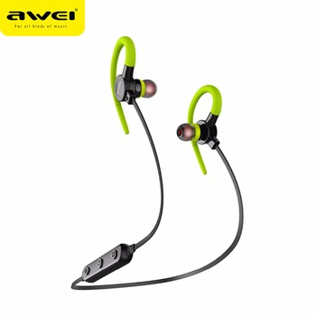 a2d67358806 AWEI B925BL bluetooth earphone/fashion portable earbuds wholesale  waterproof mic metal sport wireless bluetooth headsets