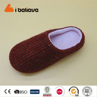 Fashion Home Slippers Winter Warm Unisex Lovers Indoor Shoes Plush Slippers