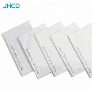 Matte Glossy Frosted 125KHZ tk4100 Blank Chip Plastic Id Card