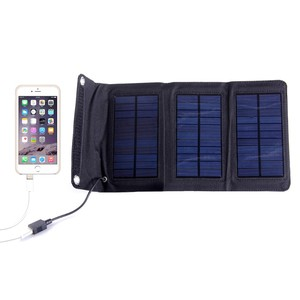 factory supply solar energy solar panel charger USB foldable backpack charger