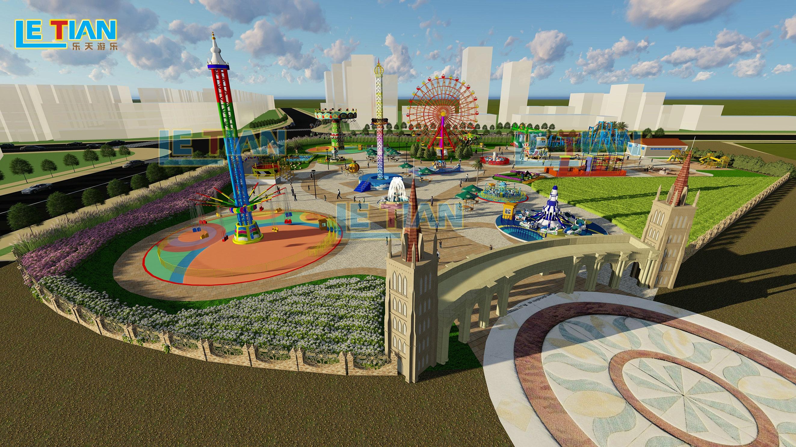 Professionelle und praktische spielplatz planung und design Park planung und design für verkauf