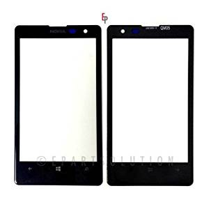 ePartSolution-Nokia Lumia 1020 Front Glass Touch Screen Lens Glass Black Replacement Part USA Seller
