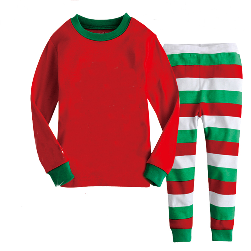 get quotations children christmas gift 100 cotton long sleeve kids pajamas baby clothing christmas pajamas kids sleepwear - Wholesale Christmas Pajamas
