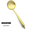 Gold-big spoon