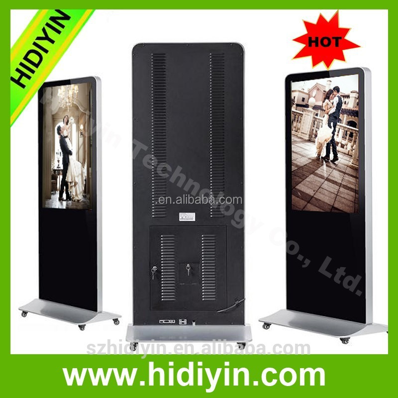 "China wholesale 65"" LCD digital signage news built in camera"