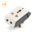 Custom 3 pin multi convertible travel adaptor charger plug