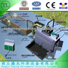 Automatic waste tyre pyrolysis plant,plastic recycling machine,tyre recycling machine