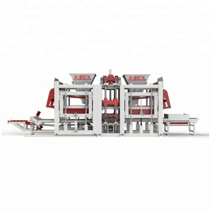 2018 HFB5250A innovative automatic brick making machine concrete block making machine price
