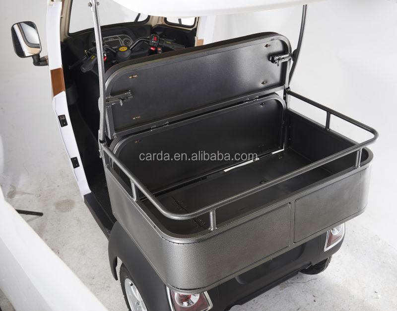 Geschlossene E Roller 3 Rad Auto 2 Passagier Elektro