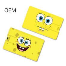 Promotional Usb Drive Blank Visa Credit Cards Shape Usb Drive 4gb