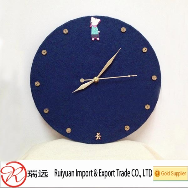 Alibaba Website Eco-friendly Durable Light Weight Wall Clock,Felt ...