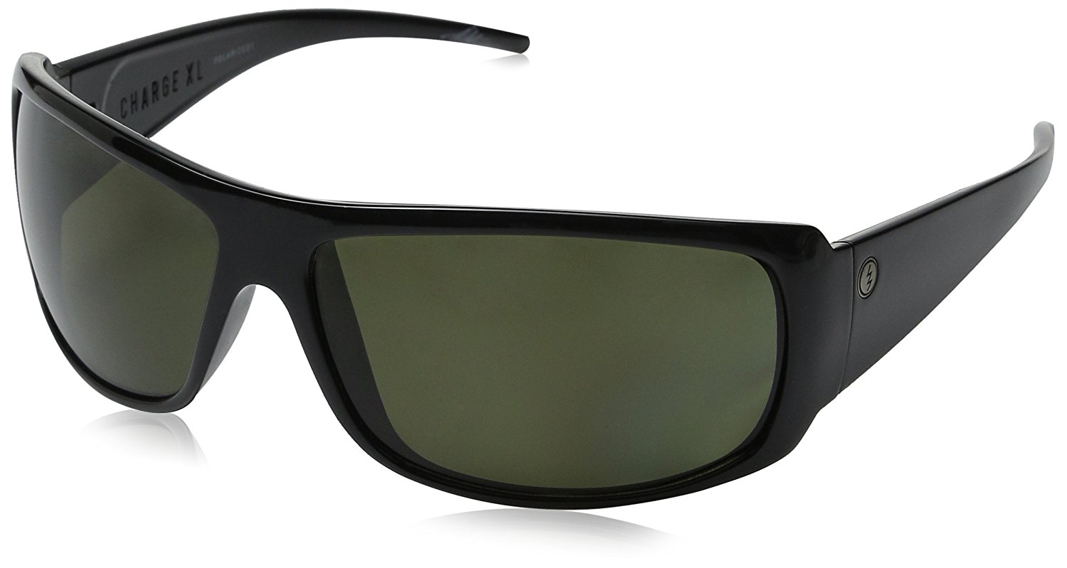 93d9c09742 Get Quotations · Electric Visual Charge XL Gray Polarized Sunglasses
