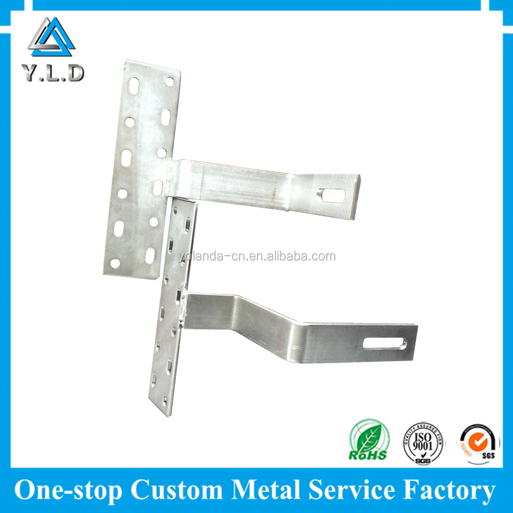Powerful Technology Customized Extrusion Welding Aluminium Profile In Solar Mounting Plate At Factory Price