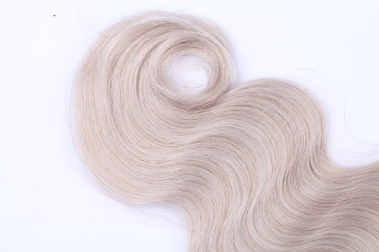 Pelo remy #1B/silver color keratin u tip hair extension flat tip hair