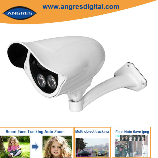 Super CCTV Security WDR Face Detection Camera with 4/6/8mm Lens